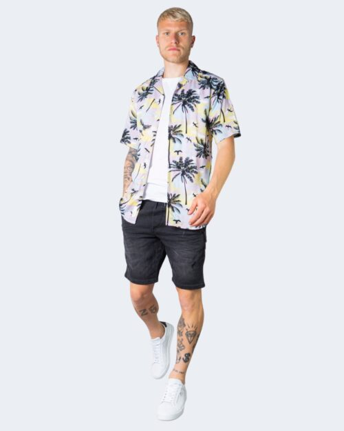 Camicia manica corta Only & Sons PALM Rosa – 63328