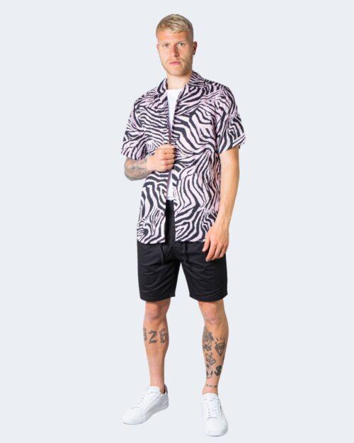 Camicia manica corta Only & Sons ZEBRA Rosa – 63329