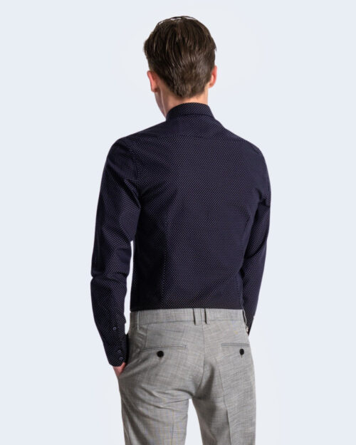 Camicia manica lunga Antony Morato NAPOLI SLIM Blu – 63501
