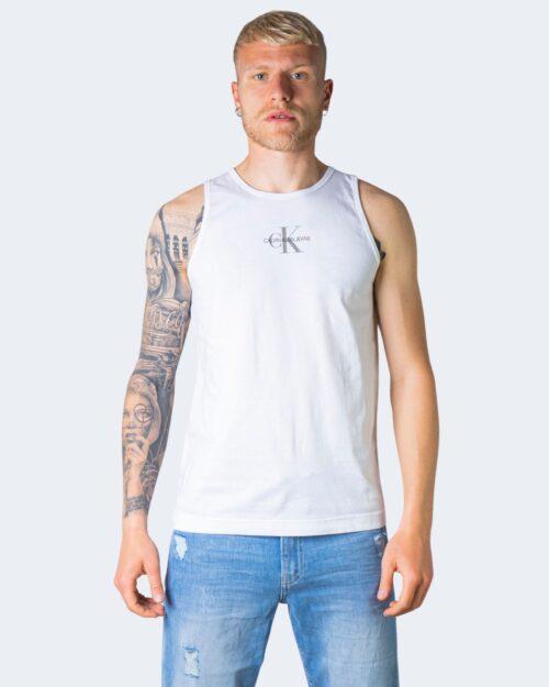 Canotta Calvin Klein CENTER CHEST Bianco – 64643