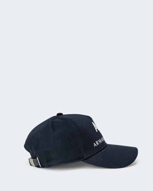 Cappello con visiera Armani Exchange BASEBALL Blu – 65170