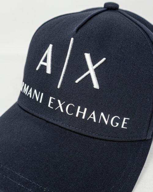 Cappello con visiera Armani Exchange BASEBALL Blu - Foto 3