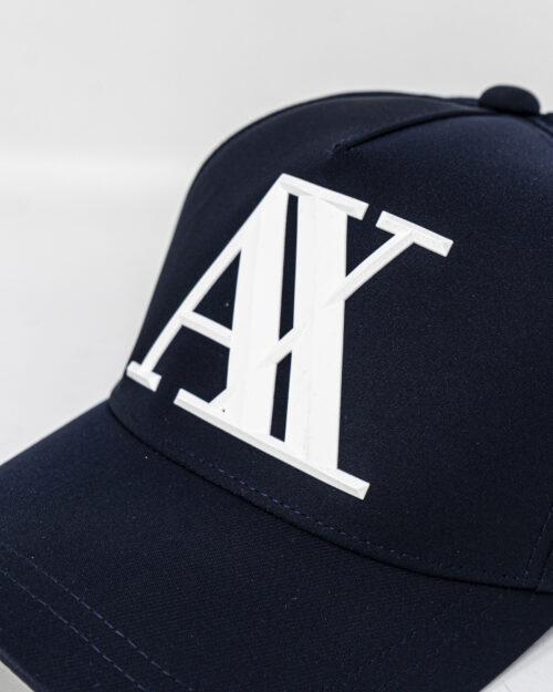 Cappello con visiera Armani Exchange LOGO GOMMATO Blu – 40704