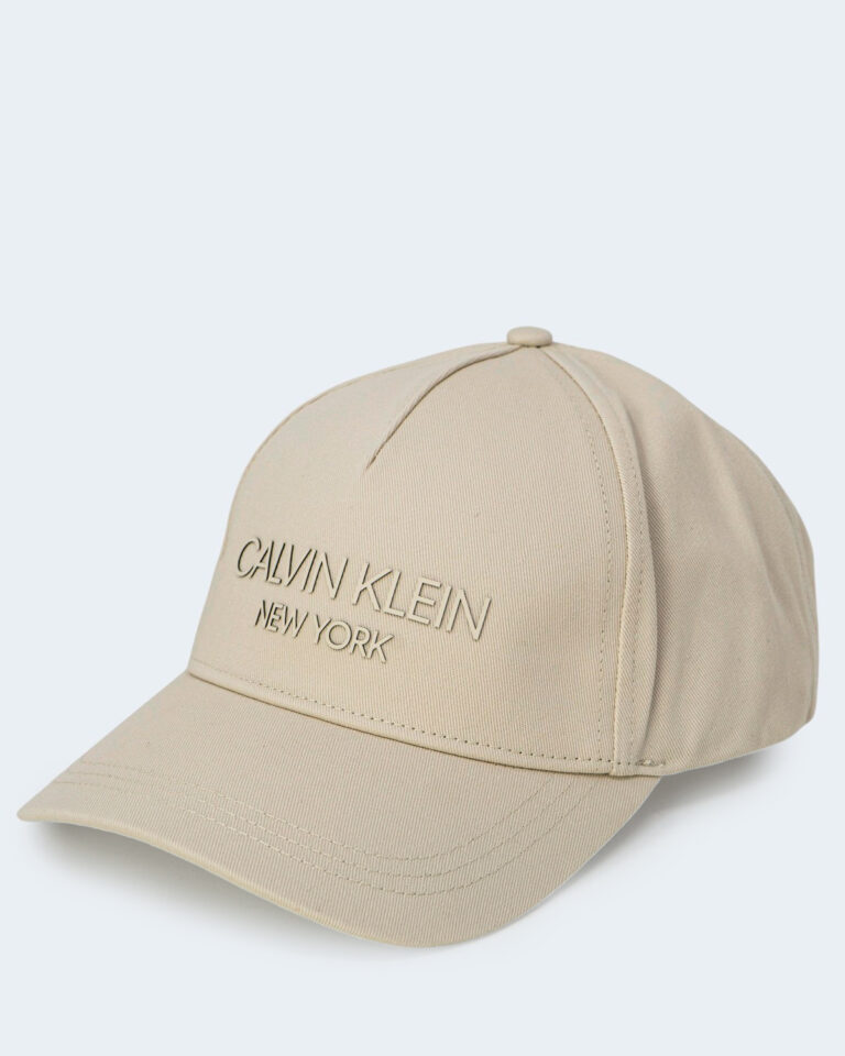 Cappello con visiera Calvin Klein BB Panna - Foto 2