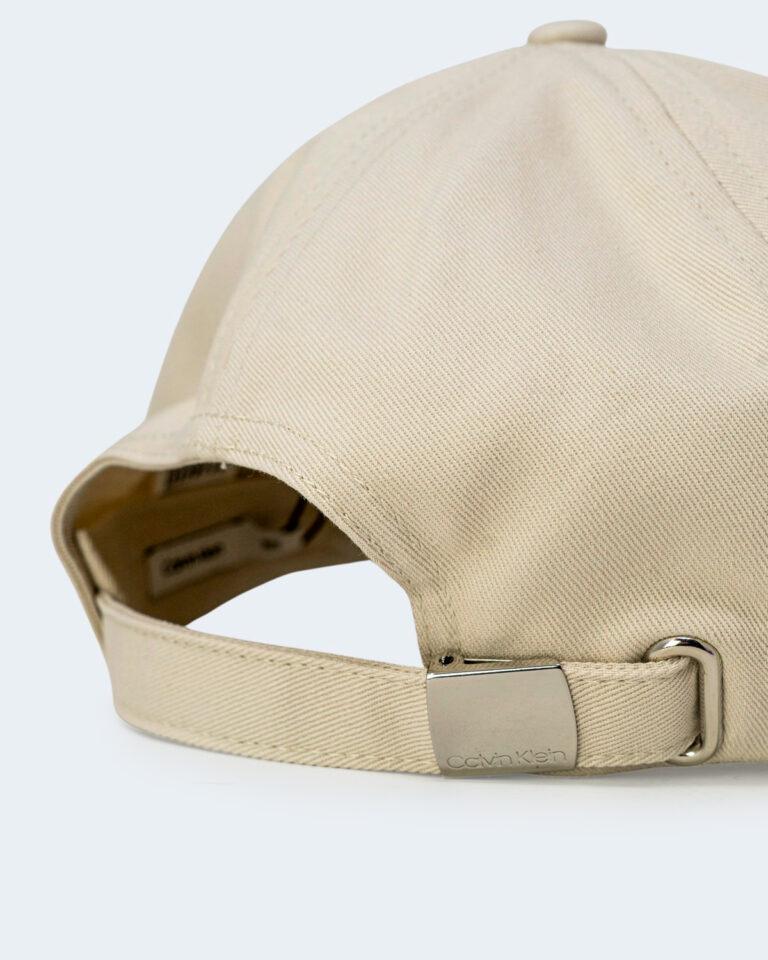 Cappello con visiera Calvin Klein BB Panna - Foto 3