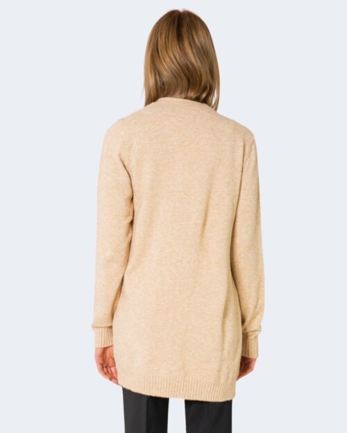 Cardigan Vila Clothes VIRIL L/S OPEN CARDIGAN COLOR Beige – 28210