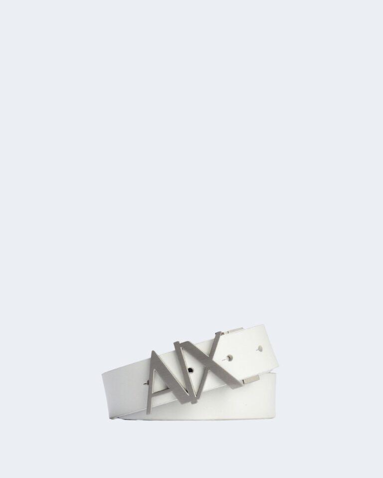 Cinta Armani Exchange CINTURA CON PLACCA REVERSIBILE Bianco - Foto 1