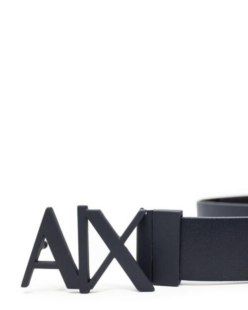 Cinta Armani Exchange CINTURA CON PLACCA REVERSIBILE Blue scuro – 17340