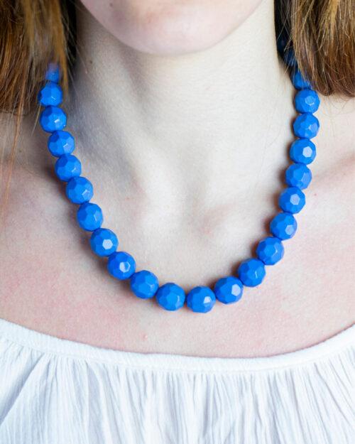 Collana I Am PERLE COLOR Azzurro – 59285