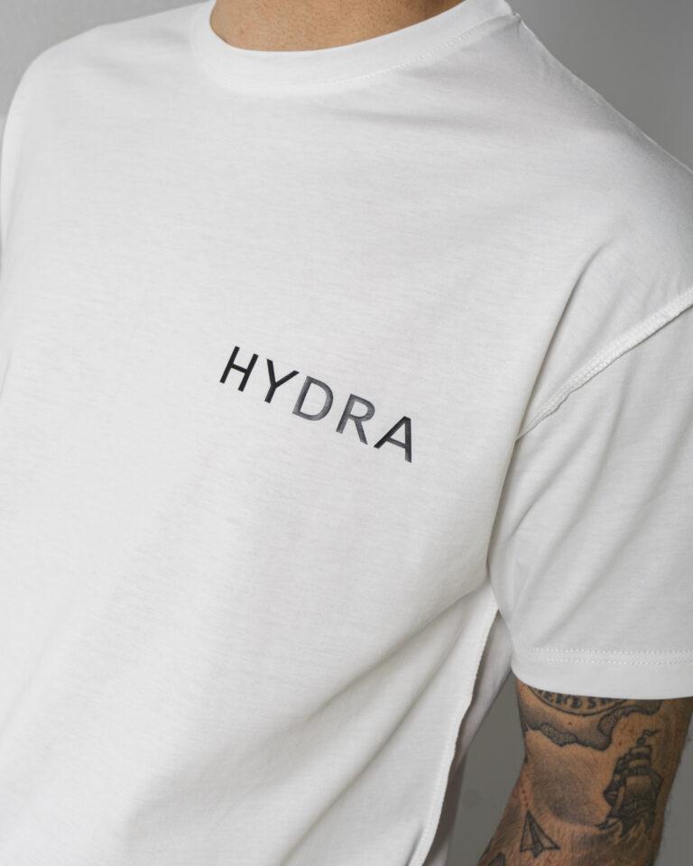 Completo corto tuta Hydra Clothing LOGO LATO CUORE Beige scuro - Foto 4