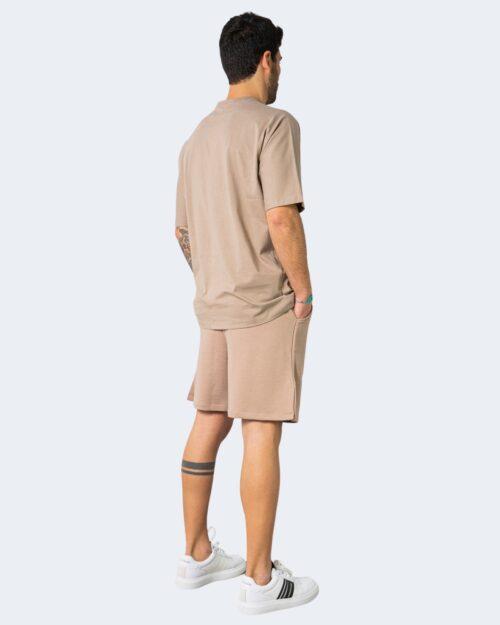 Completo corto tuta Hydra Clothing STREET PHILOSOPHY Beige scuro – 71281