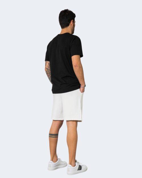Completo corto tuta Hydra Clothing LOGO CENTRALE Panna – 71282