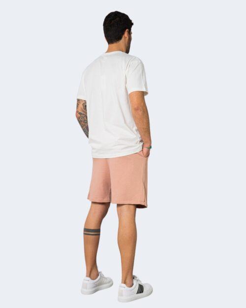 Completo corto tuta Hydra Clothing LOGO CENTRALE Rosa Cipria – 71282