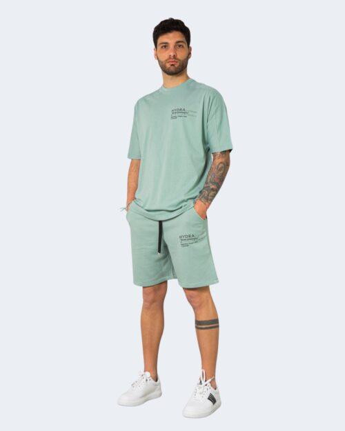 Completo corto tuta Hydra Clothing STREET PHILOSOPHY Verde – 71281