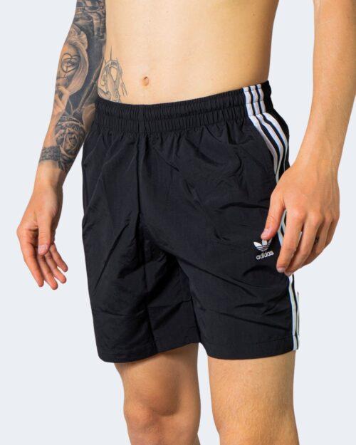 Costume da bagno Adidas 3-STRIPE Nero – 66545