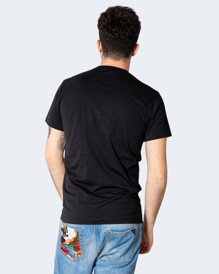 T-shirt Dsquared2 STAMPA ACQUILA Nero - Foto 2