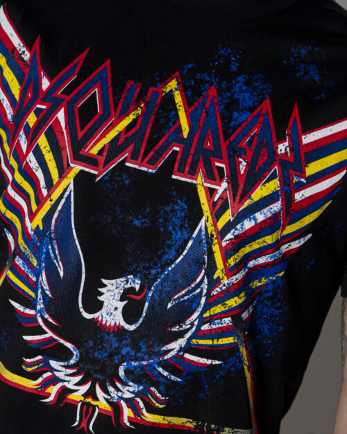 T-shirt Dsquared2 STAMPA ACQUILA Nero - Foto 3
