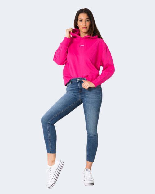 Felpa con cappuccio Calvin Klein MICRO BRANDING Rosa – 64645