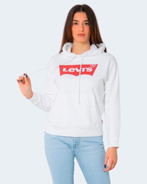 Felpa con cappuccio Levi's® GRAPHIC STANDARD Bianco – 71491