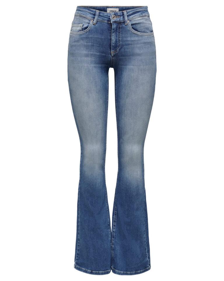 Jeans bootcut Only BLUSH Blue Denim - Foto 4