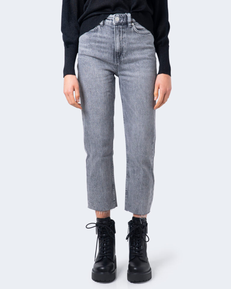 Jeans mom Only EMILY Grigio - Foto 2