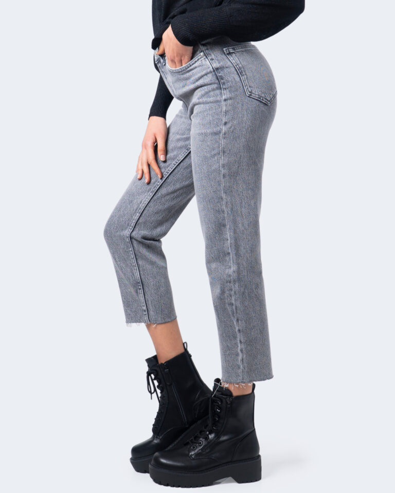 Jeans mom Only EMILY Grigio - Foto 3