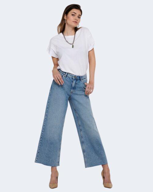 Jeans larghi Only SONNY Blue Denim Chiaro – 63279