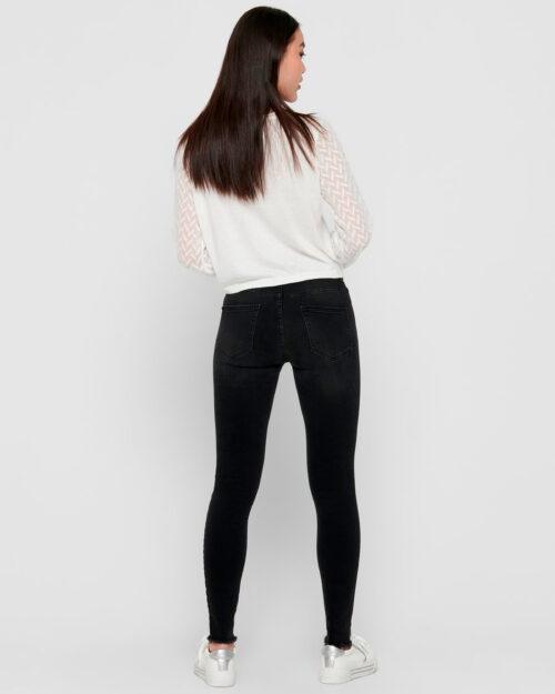 Jeans skinny Only BLUSH Nero - Foto 2