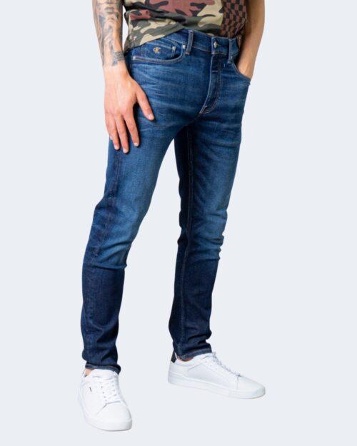Jeans slim Calvin Klein TAPER Denim scuro – 64627