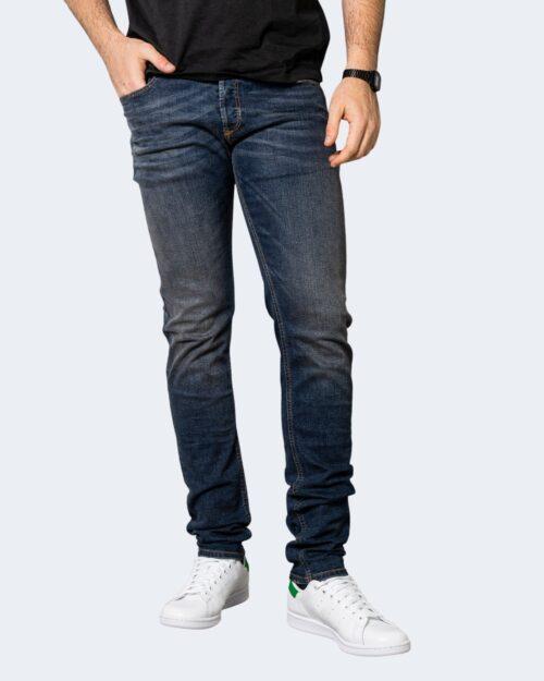 Jeans slim Diesel SLEENKER Denim scuro – 71337