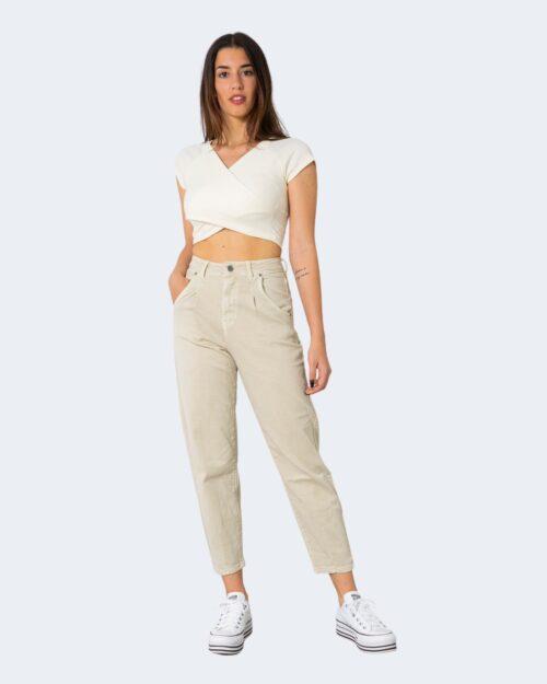 Jeans One.0 TINTA UNITA Beige – 71460