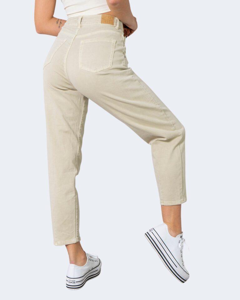 Jeans One.0 TINTA UNITA Beige - Foto 4