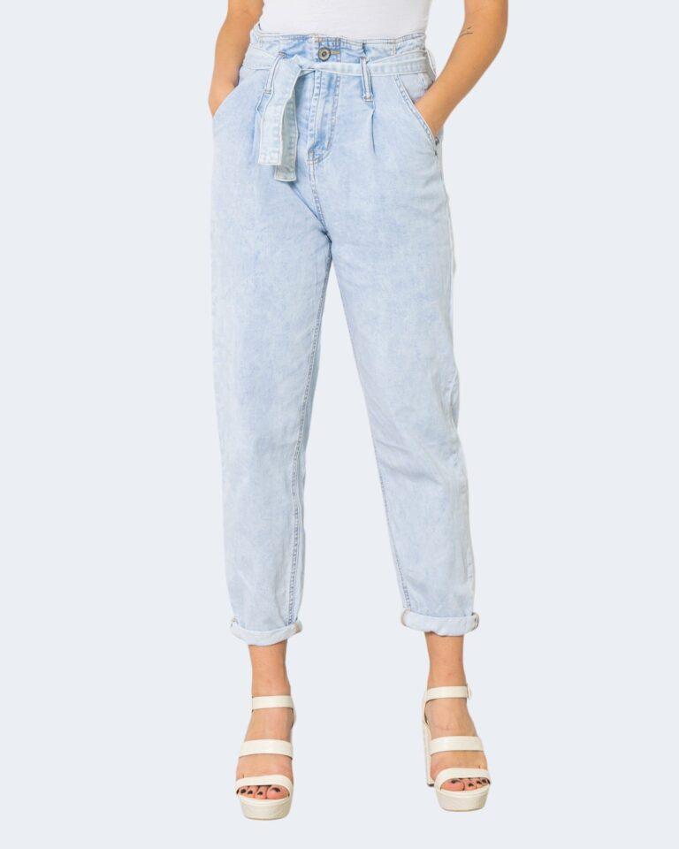 Jeans One.0 CON PINCES Denim chiaro - Foto 1