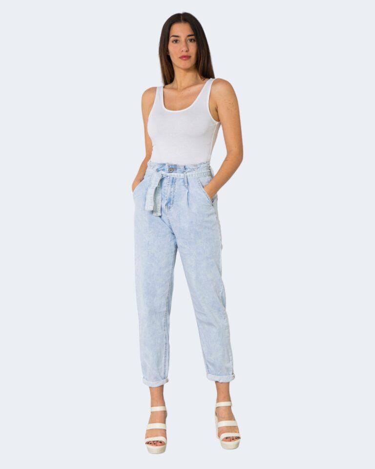 Jeans One.0 CON PINCES Denim chiaro - Foto 2
