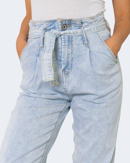 Jeans One.0 CON PINCES Denim chiaro - Foto 3