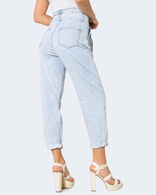 Jeans One.0 CON PINCES Denim chiaro - Foto 4