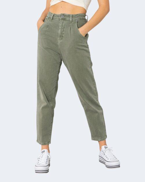 Jeans One.0 TINTA UNITA Verde Oliva – 71460