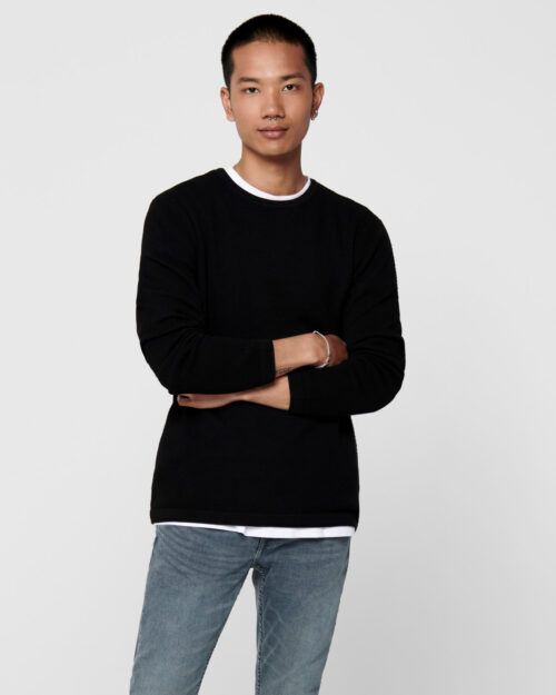 Maglia Only & Sons Panter Nero – 52597