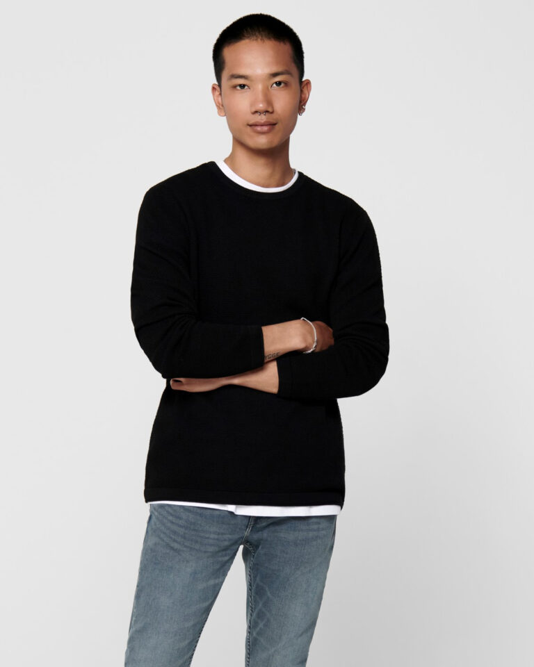 Maglia Only & Sons Panter Nero - Foto 1