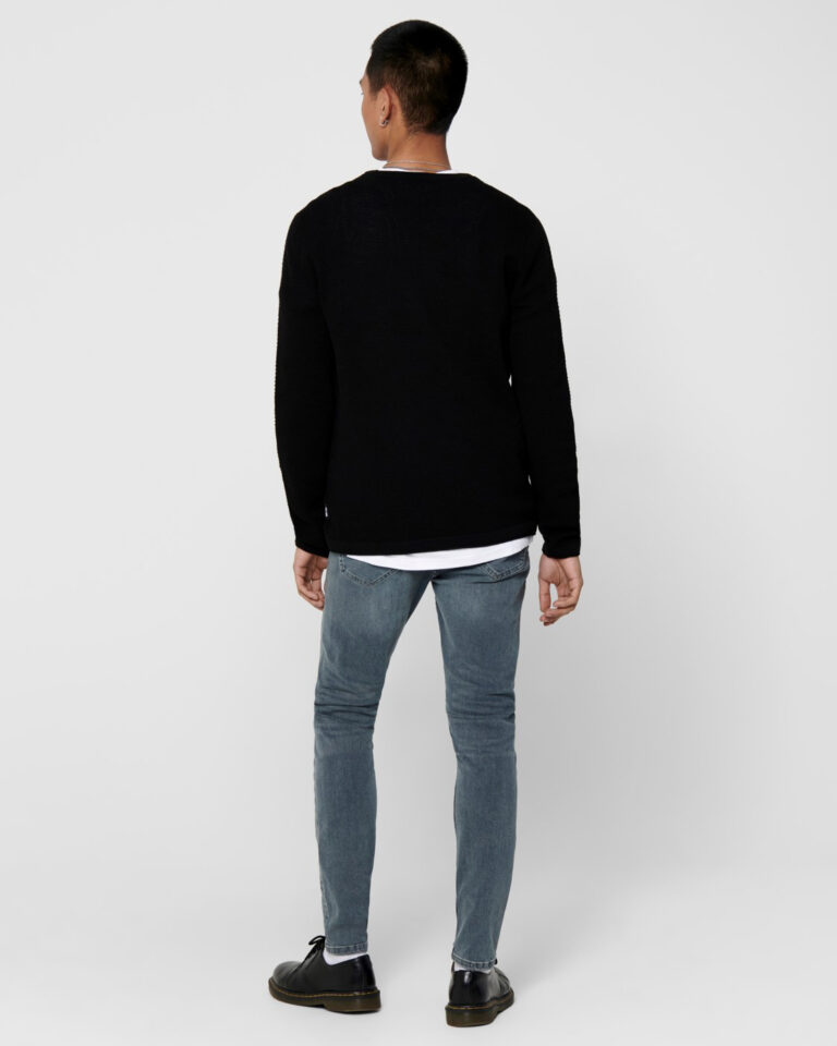 Maglia Only & Sons Panter Nero - Foto 3