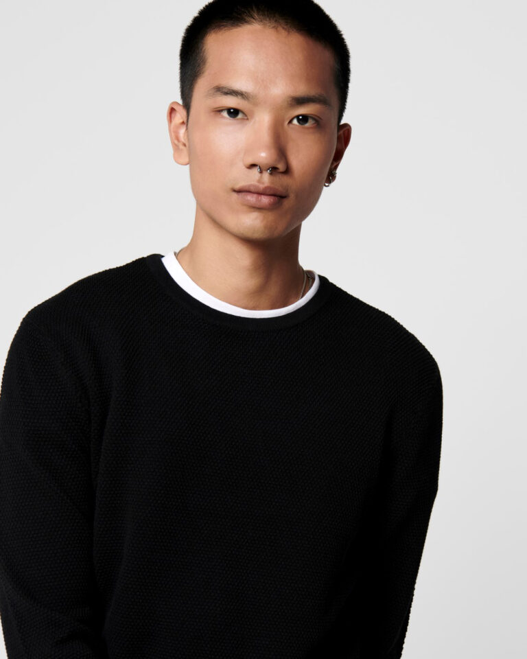 Maglia Only & Sons Panter Nero - Foto 4