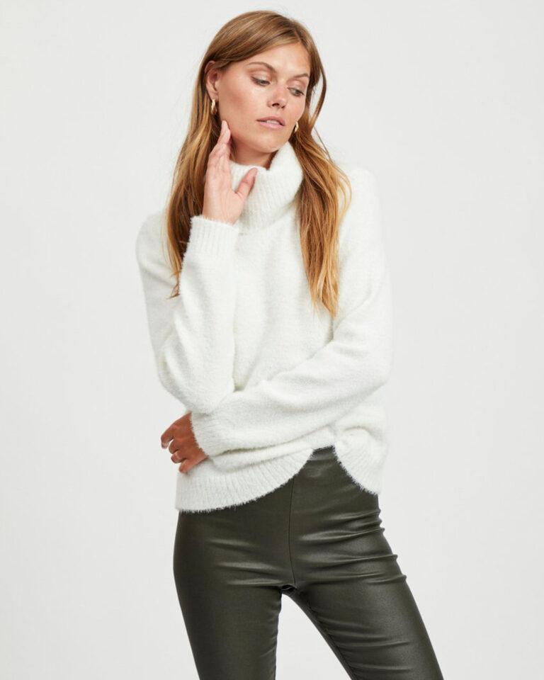 Maglione Vila Clothes FEAMI Bianco - Foto 1