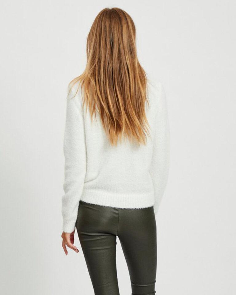 Maglione Vila Clothes FEAMI Bianco - Foto 2