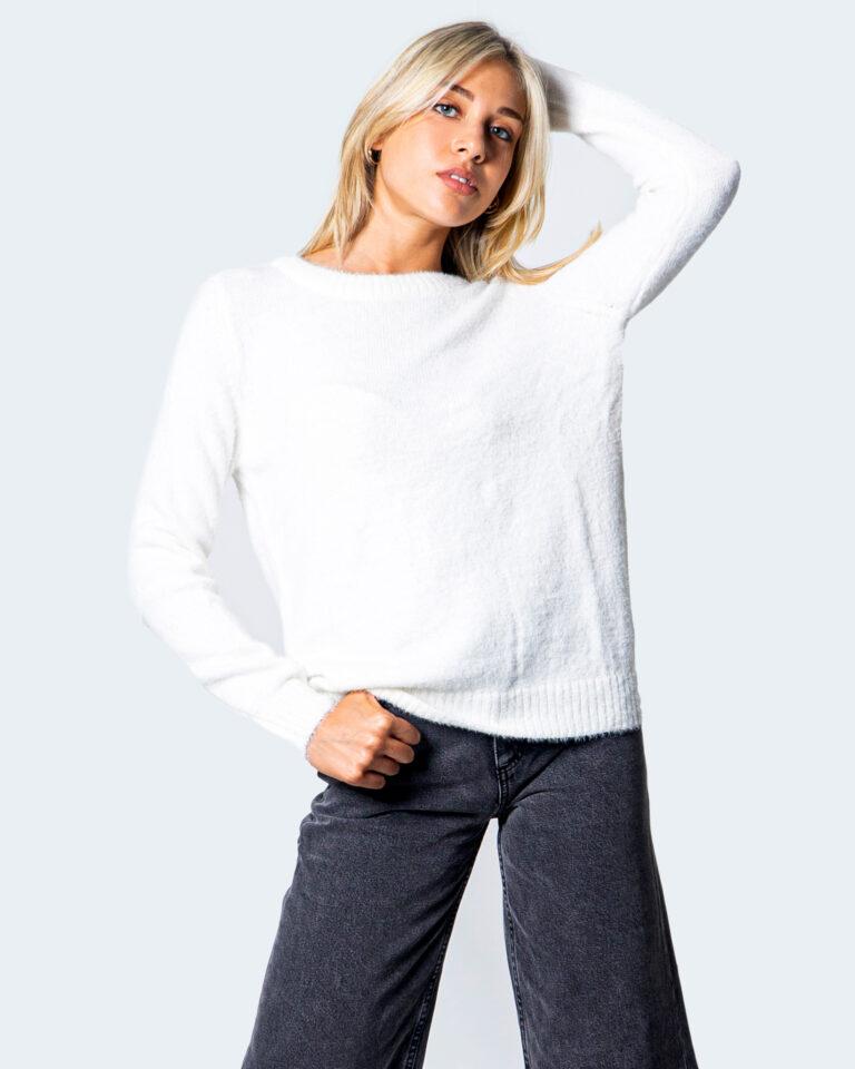 Maglione Vila Clothes Feami Panna - Foto 1