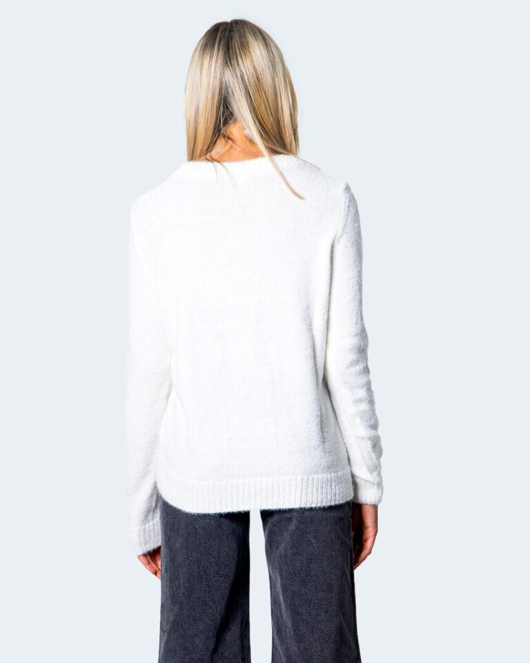 Maglione Vila Clothes Feami Panna - Foto 2