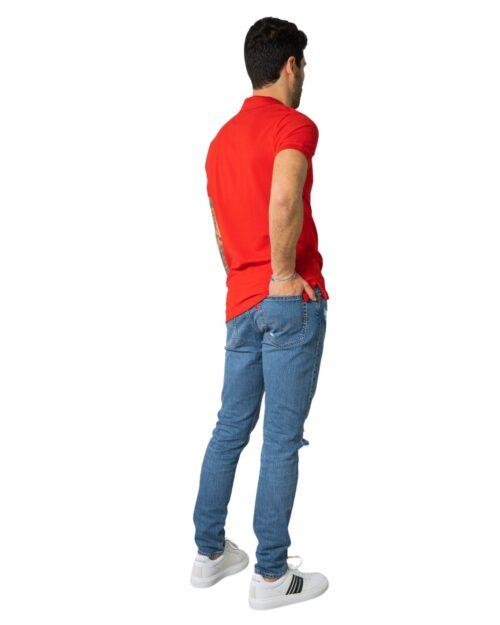 Polo manica corta Tommy Hilfiger CLASSICS SOLID Rosso – 64857