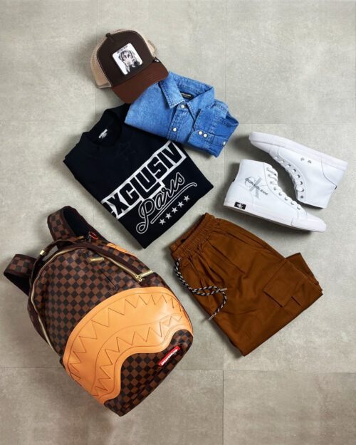 OUTFIT UOMO LOOSE FIT CASUAL #1587