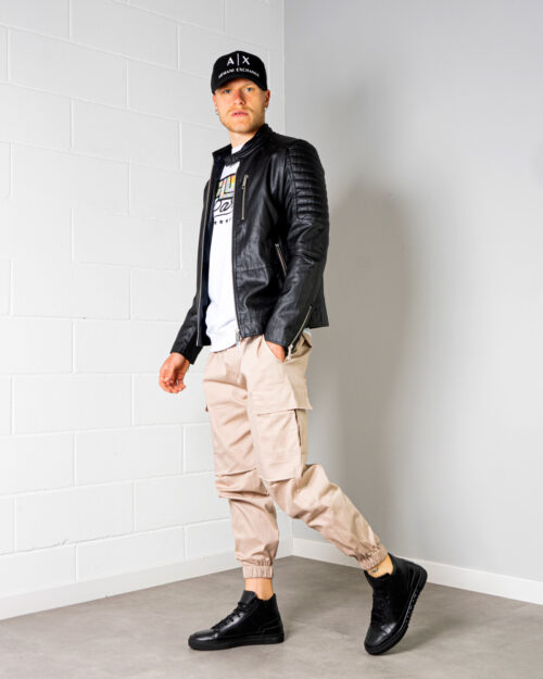 OUTFIT UOMO LOOSE FIT PELLE #5553