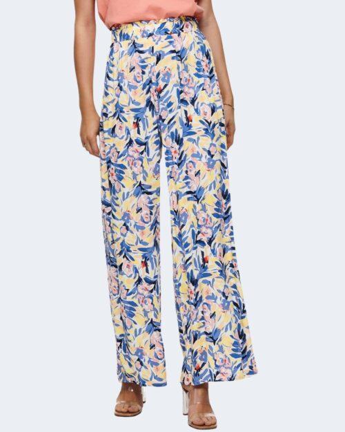 Pantaloni a palazzo Only ALASKA Giallo – 63444
