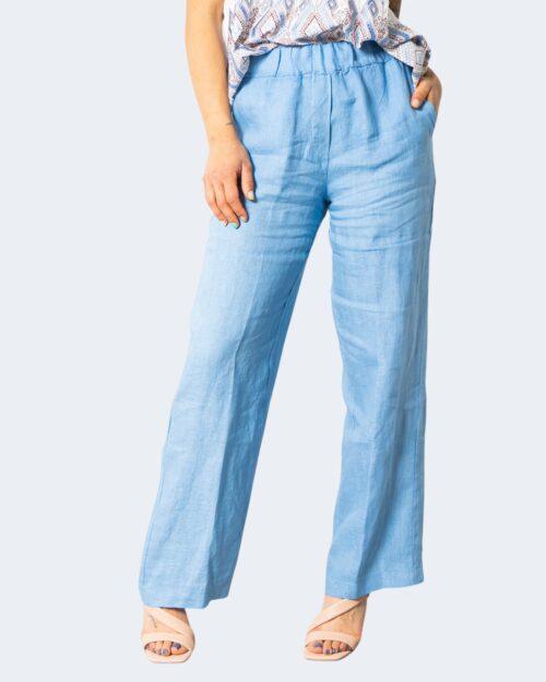 Pantaloni a palazzo Sandro Ferrone FRESH Denim chiaro – 71701
